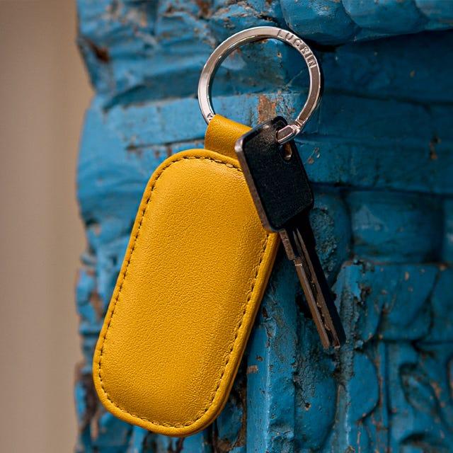 Porta-chaves retangular arredondado